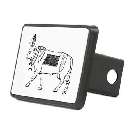 Eqyptian Sacred Bull Rectangular Hitch Coverle)