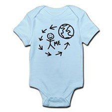 The World Revolves Around Me Infant Bodysuit