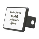 Melons Rectangular Hitch Cover
