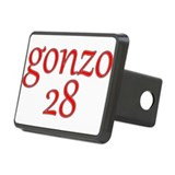 Gonzo 28 Rectangular Hitch Coverle)