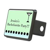 Cool Bachelorette party Rectangular Hitch Cover