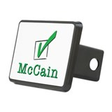McCain Check Light Hitch Cover