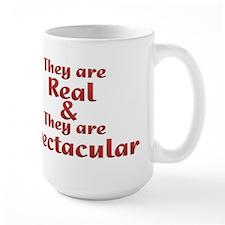 Real & Spectacular Large Mug