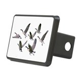 Geese on Rectangular Hitch Cover