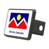 Denver CO Flag Hitch Cover