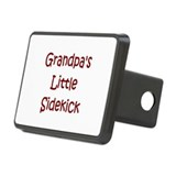 Grandpa's Little Sidekick Rectangular Hitch Cover