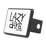 Cute Personalize i hate Rectangular Hitch Cover
