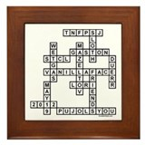 WALSH SCRABBLE-STYLE Framed Tile