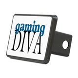 Gaming Diva Rectangular Hitch Cover