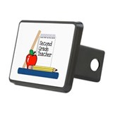 Second Grade Teacher (Notebook) Hitch Cover