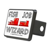 Fish Job Wizard Hitch Coverle)