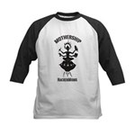 MSHM Woodblock Logo Kids Baseball Jersey