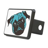 Turquois Rectangular Hitch Cover