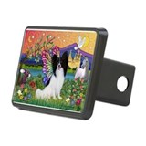 Papillon Butterfly in Fantasy Hitch Cover