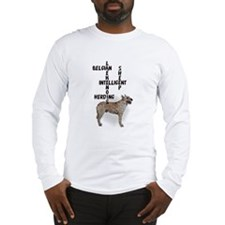 Laekenois crossword puzzle Long Sleeve T-Shirt