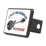 BLUEGRASS MANDOLIN Rectangular Hitch Cover