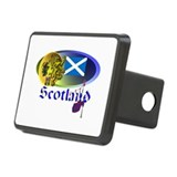 Dynamic Scotland' Rectangular Hitch Cover