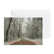 Winter Road Greeting Cards (Pk of 10)