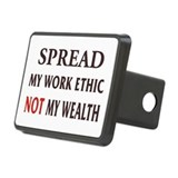 Spread My Wotk Ethic Bumper Rectangular Hitch Cove