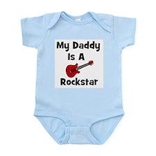 My Daddy Is A Rockstar Infant Creeper