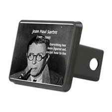Existentialist Jean-Paul Sartre Hitch Cover