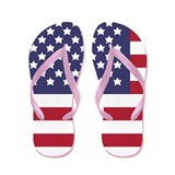 US Flag (FF) Flip Flops