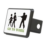 Go to Work Rectangular Hitch Cover