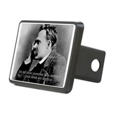 Friedrich Nietzsche Skeptical Hitch Cover