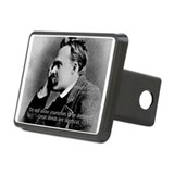 Friedrich Nietzsche Skeptical Rectangular Hitch Co
