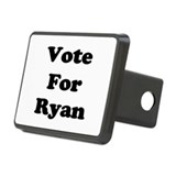Vote for Ryan (Black) Hitch Coverle)