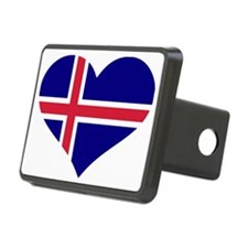 Iceland flag Hitch Coverle)