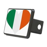 Flag Ireland Rectangular Hitch Coverle)