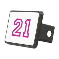 Number 21 Hitch Cover