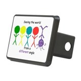 Seeing The World Rectangular Hitch Cover