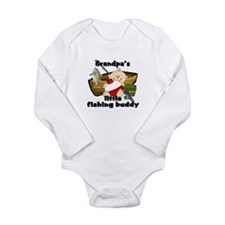 Unique Baby fishing Long Sleeve Infant Bodysuit