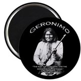 "Geronimo 01 2.25"" Magnet (100 pack)"