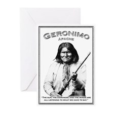 Geronimo 01 Greeting Cards (Pk of 10)