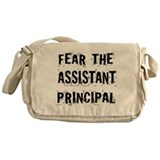Fear The Assistant Principal Messenger Bag