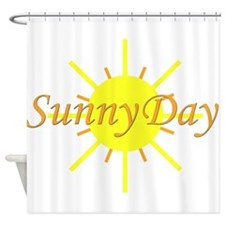 Sunny Day.png Shower Curtain