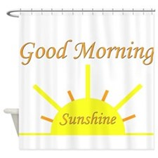 Good Morning Sunshine.png Shower Curtain