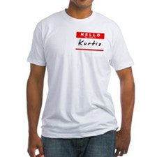 Kurtis, Name Tag Sticker Shirt