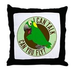 I Can Talk, Can You Fly? Yellow Nape Amazon Throw