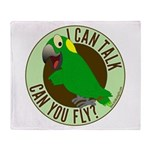 I Can Talk, Can You Fly? Yellow Nape Amazon Stadi