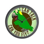 I Can Talk, Can You Fly? Yellow Nape Amazon Wall C