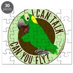 I Can Talk, Can You Fly? Yellow Nape Amazon Puzzle