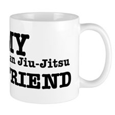 I love my Brazilian Jiu Jitsu Girlfriend Mug