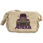 Trucker Alexa Messenger Bag