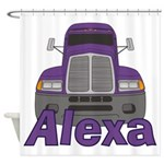 Trucker Alexa Shower Curtain