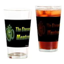Om Aum The Eternal Mantra Drinking Glass