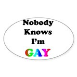 Nobody Knows Decal